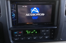 Ford Excurion Flip Down and Radio Install