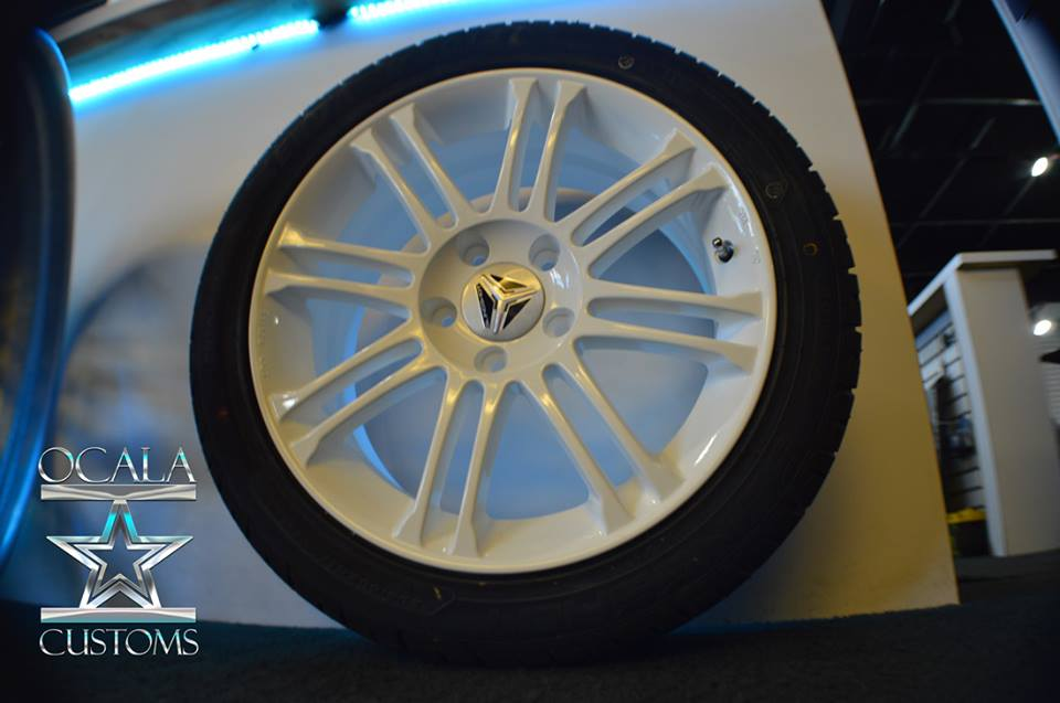 powder coated wheels slingshot