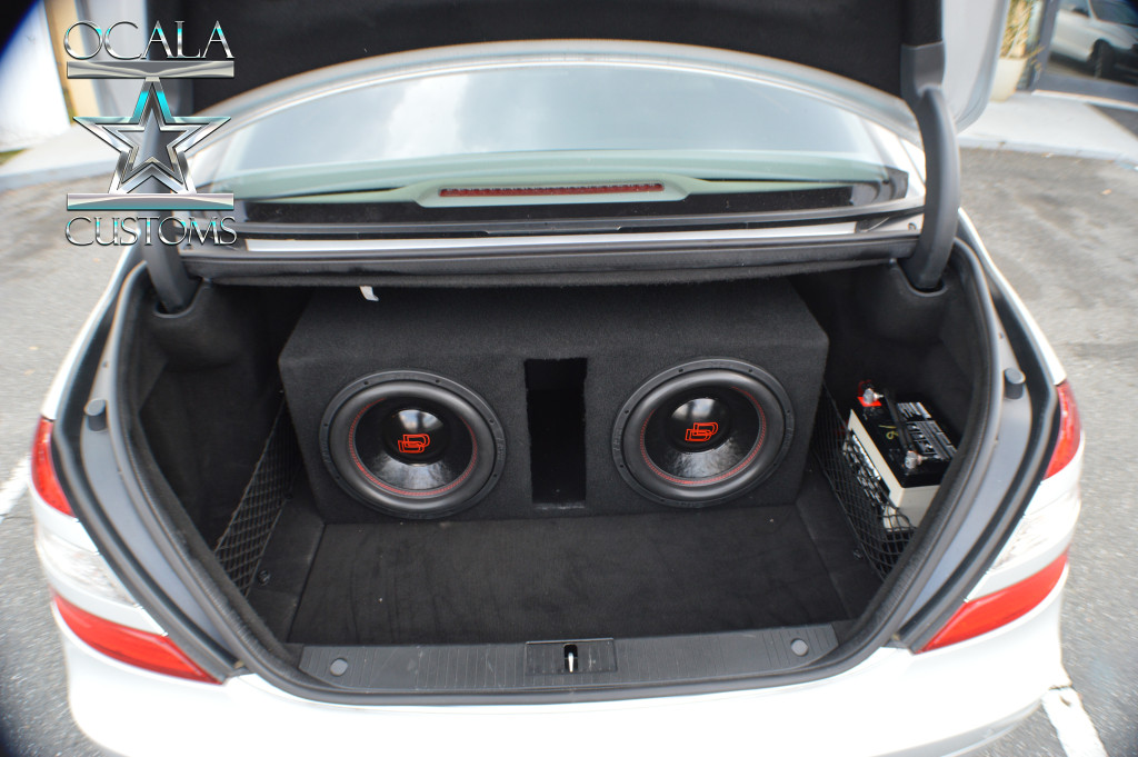 2007 S550 DD audio Bass Package