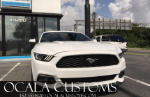 2015 Mustang Tinted Tail lights