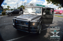 2004 G500 Wagon Double Din