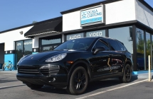 2014 Porsche Cayenne Power Coated Wheels/Center Caps.
